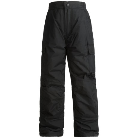 Rawik Board Dog Cargo Pants - Insulated (For Toddlers) in Black