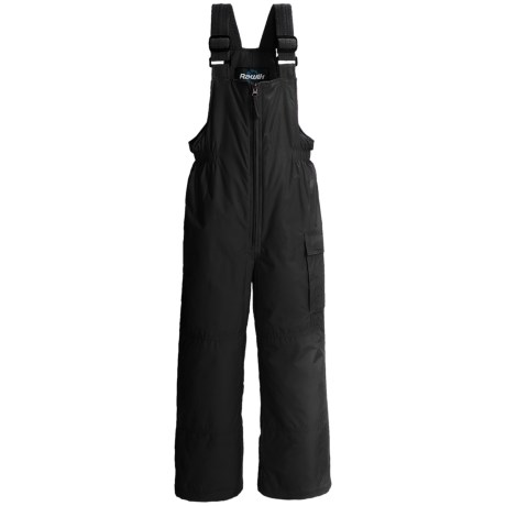 Rawik Cargo Bib Overalls - Insulated (For Toddlers) in Black