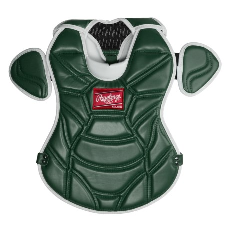 "Rawlings 950Z Series Chest Protector - 16"" (For Youth) in Dark Green"