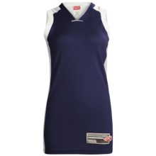 Rawlings Basketball Jersey - Sleeveless (For Women) in Navy - Closeouts