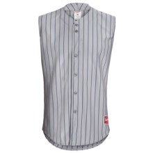 Rawlings Change Up Baseball Jersey - Sleeveless (For Men and Women) in Dodger Grey/Royal - Closeouts