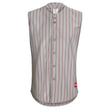 Rawlings Change Up Baseball Jersey - Sleeveless (For Men and Women) in Dodger Grey/Scarlet - Closeouts