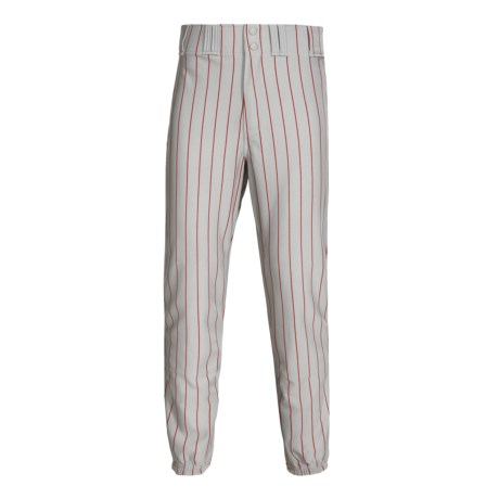 Rawlings Pro Weight Pinstripe Baseball Pants (For Men and Women) in Dodger Grey/Royal