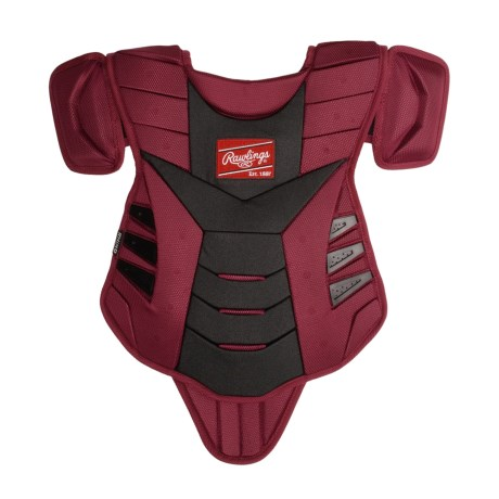 "Rawlings Rhino Gear Chest Protector - 15"" (For Youth) in Cardinal"