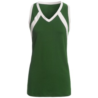 Rawlings Slap Hit Racerback Softball Jersey - Sleeveless (For Women) in Dark Green