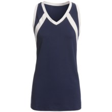 Rawlings Slap Hit Racerback Softball Jersey - Sleeveless (For Women) in Navy - Closeouts