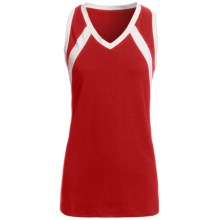 Rawlings Slap Hit Racerback Softball Jersey - Sleeveless (For Women) in Scarlet - Closeouts