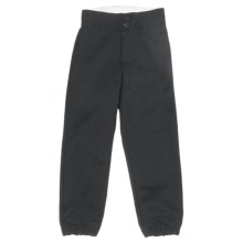 Rawlings Softball Pants (For Girls) in Black - Closeouts