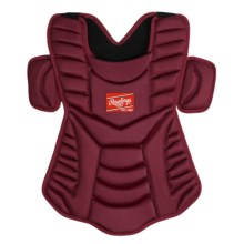 "Rawlings Workhorse 17"" Chest Protector (For Men and Women) in Cardinal - Closeouts"