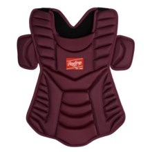 "Rawlings Workhorse 17"" Chest Protector (For Men and Women) in Maroon - Closeouts"