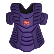 "Rawlings Workhorse 17"" Chest Protector (For Men and Women) in Purple - Closeouts"