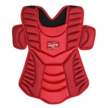"Rawlings Workhorse 17"" Chest Protector (For Men and Women) in Scarlet - Closeouts"