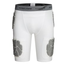 Rawlings Zoombang 5-Piece Compression Padded Girdle Shorts (For Youth) in White - Closeouts