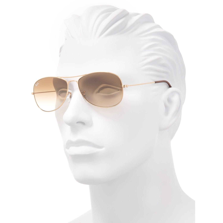 6c11dbc638 Ray-Ban Cockpit Aviator Gradient Sunglasses - Save 34%