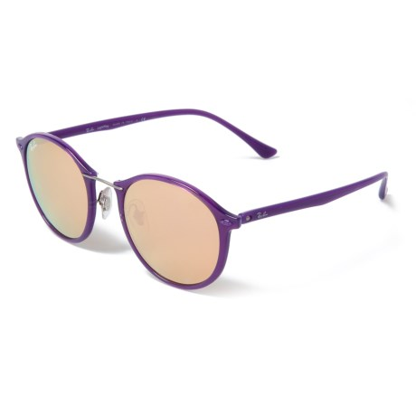 3c052fb9f1 Ray-Ban Injected Mirror Sunglasses (For Men and Women) in Shiny Violet