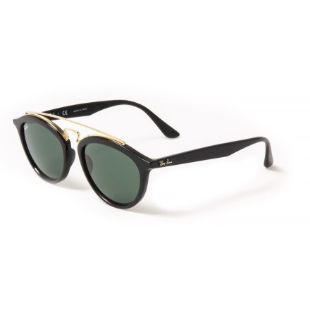 653834fb61 Ray-Ban Injected Sunglasses (For Women) in Black Dark Green