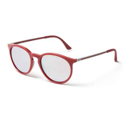 e68f40314c5 Ray-Ban Injected Sunglasses in Light Flash Grey Bordo - Closeouts