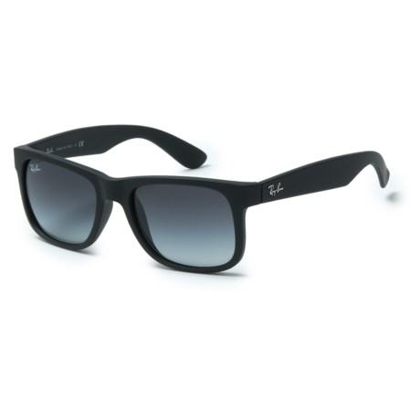 Ray-Ban Justin RB4165 Sunglasses in Black/Black