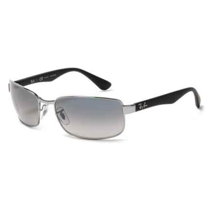 Ray-Ban RB3478 Sunglasses - Polarized in Blue/Grey/Gunmetal