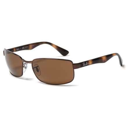 Ray-Ban RB3478 Sunglasses - Polarized in Crystal Brown/Brown - Closeouts