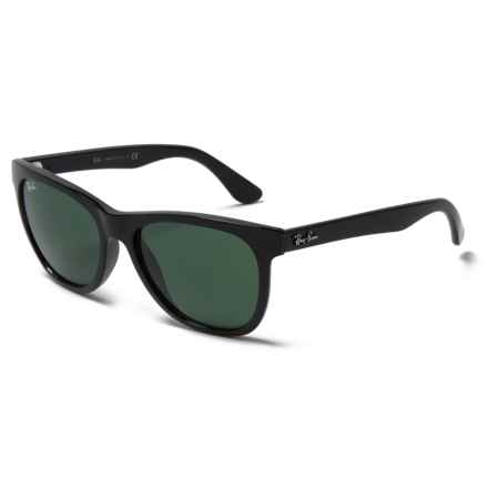 Ray-Ban RB4184 Wayfarer Sunglasses in Green/Black - Overstock