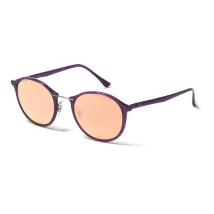 Ray-Ban RB4242 Sunglasses in Violet/Copper Mirror - Closeouts