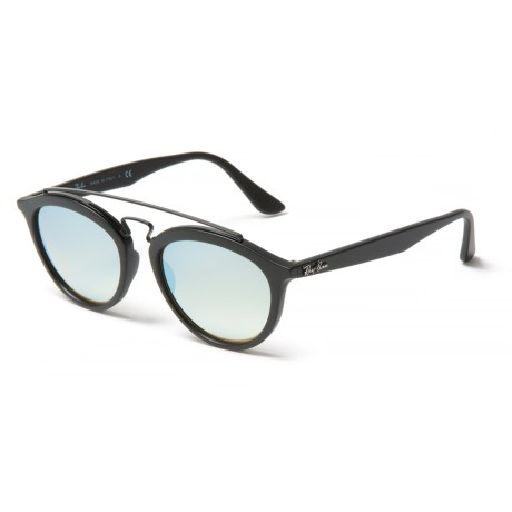 cc855f6728f7a Ray-Ban RB4257 New Gatsby II Sunglasses - Mirror Lenses in Grey Mirror Matte