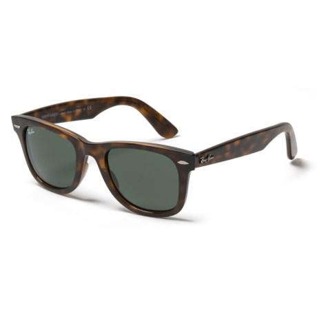 bcfefc1d16 ... czech ray ban rb4340 wayfarer ease sunglasses in tortoise havana green  dcc58 67adb ...