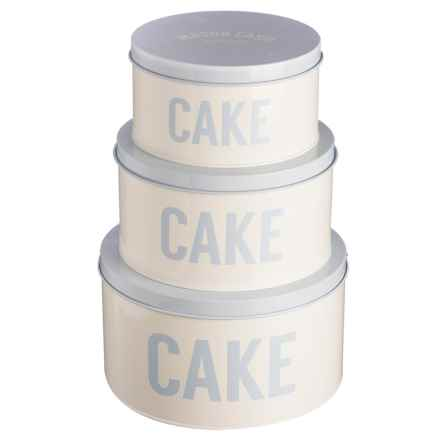 Rayware Group Cash Bakewell Cake Tins - Set of 3 in Pale Blue - Overstock