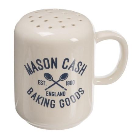 Rayware Group Varsity Flour Shaker - 4 oz. in White