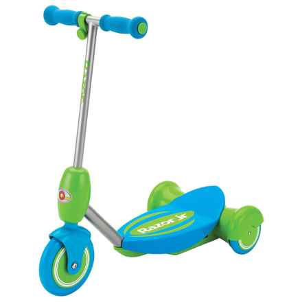 Jr. Lil' E Electric Scooter in Blue - Closeouts
