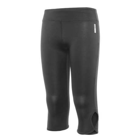 RBX Active Keyhole Capris (For Big Girls) in Black