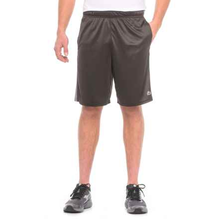 """RBX Active Training Shorts - 9"""" (For Men) in Black/Grey Heather - Closeouts"""