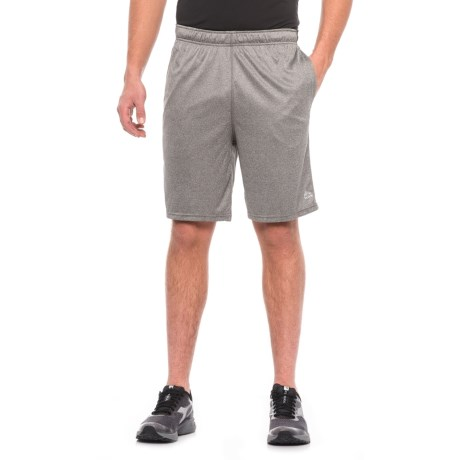 "RBX Active Training Shorts - 9"" (For Men) in Grey Heather/Black"