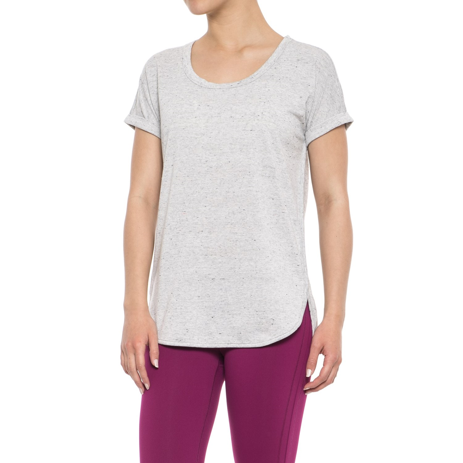 726915284 RBX Baby French Terry Roll Cuff T-Shirt - Short Sleeve (For Women ...