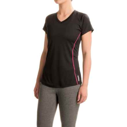 RBX Back-Vented T-Shirt - Short Sleeve (For Women) in Black - Closeouts