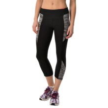 RBX Blocked Capris (For Women) in Black Combo - Closeouts