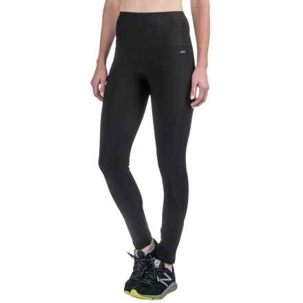 RBX Body Contouring Compression Leggings (For Women) in Black/Ice Grey - Closeouts