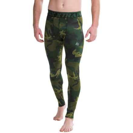 RBX Brushed Camo Base Layer Pants (For Men) in Dark Green - Closeouts