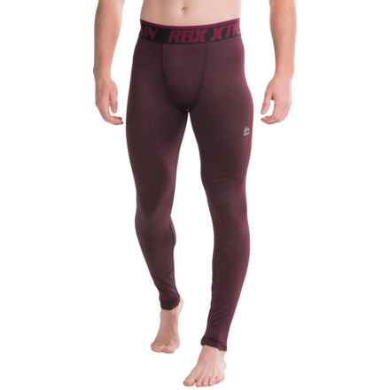 RBX Brushed Striated Base Layer Pants (For Men) in Wine - Closeouts