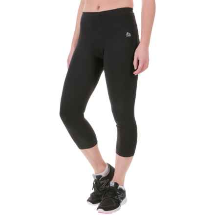 RBX Cotton-Spandex Capris (For Women) in Black - Closeouts