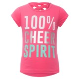 RBX Crisscross Graphic T-Shirt - Short Sleeve (For Little Girls)