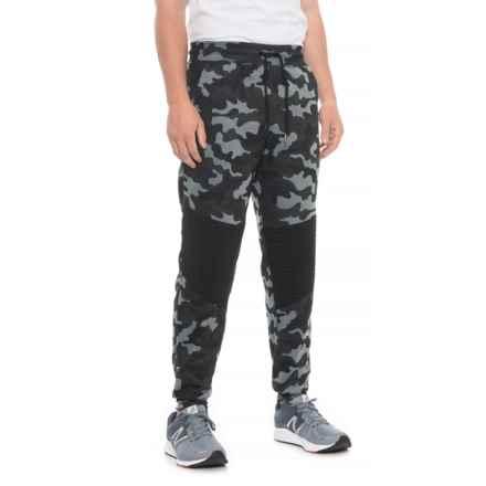271ccd505099 RBX CVC Camo Fleece Joggers (For Men) in Black Camo - Closeouts
