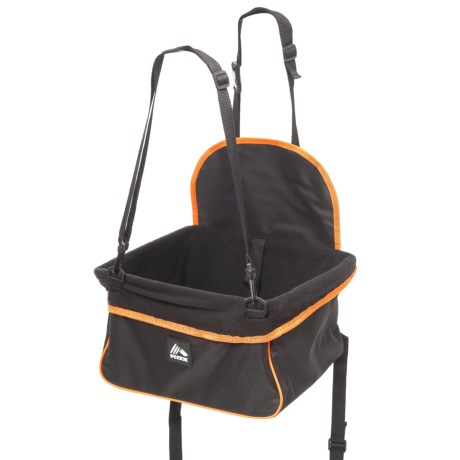 RBX Dog Booster Car Seat for Small Dogs in Black