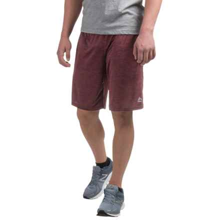 RBX Double Dye Shorts (For Men) in Burgundy - Closeouts