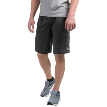 RBX Double Dye Shorts (For Men) in Charcoal Straited - Closeouts