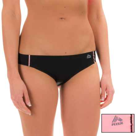 RBX Edge No-Show Hipster Panties - 2-Pack (For Women) in Blush Black - Closeouts