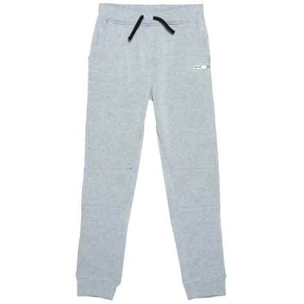 RBX Fleece Joggers (For Big Boys) in Grey Heather - Closeouts