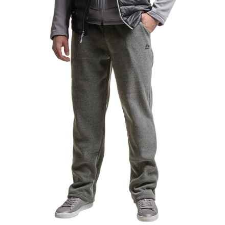 RBX Fleece Joggers - Straight Leg (For Men) in Heather Charcoal - Closeouts