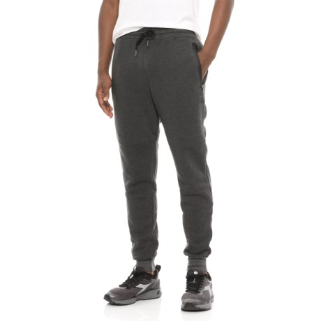 RBX Fleece Tapered Joggers (For Men) in Charcoal Heather